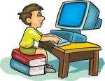 Tweetallen computer alleen boy_computer